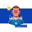 Soccer legends. Um projeto de Design, Ilustração, Design de personagens e Desenho de Retrato de Edgar Rozo - 04.04.2020