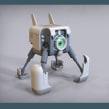 Mi Proyecto del curso: Introducción al modelado hard surface. Un proyecto de 3D de Victoria Passariello Fontiveros - 04.04.2020