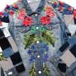 Patched Garden . Un proyecto de Diseño, Moda, Bellas Artes, Diseño de moda, Bordado e Ilustración textil de Ana María Restrepo - 04.04.2020