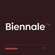 Biennale. Un proyecto de Diseño tipográfico de Latinotype - 09.11.2019
