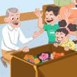 Libros de Texto. Un proyecto de Ilustración infantil de Jimena S. Sarquiz - 20.04.2020