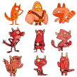Monstruos. A Character Design, and Game Design project by Jimena S. Sarquiz - 04.20.2020
