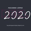 Facundo López - Reel 2020. Um projeto de Ilustração, Motion Graphics, Animação, Design de personagens, Animação de personagens e Animação 2D de Facundo López - 30.03.2020
