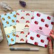 Papelaria + Pattern / Papelería + Patrones. Un proyecto de Pattern Design, Ilustración digital, Pintura a la acuarela e Ilustración botánica de Isabela Quintes - 30.04.2020