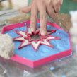 Baldosas con estrella cortante de galletitas. Un proyecto de 3D de Juan Manuel Rossi - 10.06.2019