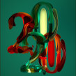2020 the year of COVID - 19 broke. Un proyecto de 3D, Dirección de arte, Tipografía, Lettering 3D y Diseño tipográfico de Erich Gordon - 28.04.2020