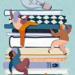 Editorial illustrations: Läraren. Un proyecto de Ilustración y Diseño editorial de Emma Hanquist - 18.05.2020