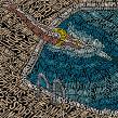 50 Maps. Un proyecto de Ilustración, Tipografía y Diseño tipográfico de Sarah King - 12.04.2015