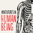 Cover illustration and typography for Adventures in Human Being by Gavin Francis. Un proyecto de Ilustración y Tipografía de Sarah King - 11.07.2017