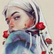 PRIMAVERANO. Un projet de Illustration numérique, Aquarelle, Illustration de portrait , et Dessin de portrait de Elena Garnu - 23.05.2020