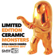 LIMITED EDITION CERAMIC MONSTERS. A Design, Ceramics, and Design 3D project by Marco Colín - 05.25.2020