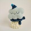 Snowy Cloud. Um projeto de Design de personagens, Artesanato, Artes plásticas, Escultura, To e Art de droolwool - 25.05.2020