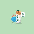 AdeS. A Illustration, Advertising, and Graphic Humor project by Marco Colín - 05.25.2020