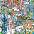 Barcelona Puzzle. Un proyecto de Ilustración e Ilustración arquitectónica de Carlo Stanga - 25.05.2020