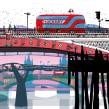 London Bridges. Un proyecto de Ilustración, Arquitectura e Ilustración arquitectónica de Carlo Stanga - 26.05.2020