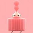 Pink Series. Un proyecto de Ilustración y Diseño de personajes 3D de Laurie Rowan - 01.05.2019