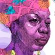 Nina Simone. Un proyecto de Ilustración digital de Leonardo Gauna - 05.06.2020