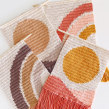 Tapices Sun & Rainbow. Un proyecto de Diseño, Ilustración textil, Decoración de interiores y Tejido de Flor Samoilenco - 01.03.2020