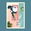 Space NK. Un proyecto de Ilustración, Moda, Ilustración vectorial e Ilustración digital de Pietari Posti / Studio Posti - 14.06.2019