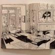 Sketching on my Moleskine. Um projeto de Design de interiores, Esboçado, Ilustração Arquitetônica e Sketchbook de Carlo Stanga - 23.06.2020