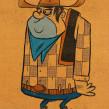 The Real Bad Hombre!. Un proyecto de Ilustración, Ilustración digital e Ilustración infantil de Ed Vill - 27.06.2020