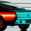 Mustang 65 Estudio de iluminación. Un proyecto de 3D, Dirección de arte, Br, ing e Identidad, Diseño de automoción, Diseño de iluminación, VFX, Animación 3D, Iluminación fotográfica, Diseño 3D, Corrección de color y Composición fotográfica de Ro Bot - 04.07.2020