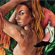 Exposición Eva sin Culpa. Un proyecto de Ilustración, Pintura a la acuarela y Pintura acrílica de Fefa Cox - 04.06.2020