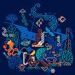 Proyecto de mi curso: Ilustración expresiva a toda línea. Um projeto de Ilustração, Ilustração vetorial, Desenho a lápis, Desenho e Ilustração digital de Carlos Arrojo - 07.07.2020