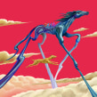 Las leyendas de Xico. A Illustration, Malerei mit Acr, l und Digitale Malerei project by Kamui MG - 10.07.2020