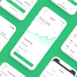 App de inversión. A UI / UX, and Mobile App Design project by Samuel Hermoso - 01.15.2019