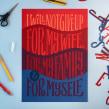 Hope Illustrations - projeto desenvolvido para agência VML de Nova York, usando diversas técnicas manuais.. Um projeto de Tipografia, Caligrafia, Lettering, Caligrafia com brush pen, Desenho tipográfico, H e lettering de Cyla Costa - 28.07.2020