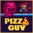 Videojuego: 'Pizza Guy'. A Character animation, 2D Animation, Video game, and Pixel Art project by Daniel Benítez - 11.19.2019