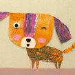 Firulé. Un proyecto de Ilustración, Diseño de personajes, Collage e Ilustración infantil de Estrellita Caracol - 19.08.2020