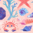 By the Sea. Un projet de Illustration, Illustration numérique et Illustration jeunesse de Gemma Gould - 01.08.2020
