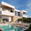 Viviendas pareadas en Vall d'Uixó. Un proyecto de 3D, Arquitectura, Infografía, Modelado 3D y Visualización arquitectónica de Salva Moret Colomer - 29.09.2018