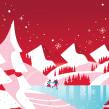Nestle Chocolates Caja Roja . A Illustration, Vector Illustration, and Digital illustration project by Pietari Posti / Studio Posti - 09.01.2020