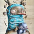 La Dama del Armiño. Un proyecto de Ilustración, Pintura y Pintura a la acuarela de Katherine Dossman Casallas (k2man*) - 03.09.2020