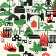Ilustraciones revista Gato Pardo (La cuna de la narcocultura). Un proyecto de Ilustración de Manuel Vargas - 09.09.2020