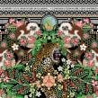Pañuelo Solidario para Fundación Herencia Ambiental Caribe.. Un proyecto de Diseño, Ilustración, Diseño de producto, Estampación e Ilustración textil de Catalina Estrada Uribe - 14.09.2020