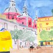 MADRID MOLA (Work in progress). Un proyecto de Ilustración, Animación, Pintura y Animación 2D de Marion Bretagne - 15.09.2020