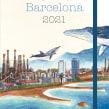 Agenda de Barcelona 2021. A Illustration project by Gemma Capdevila - 15.07.2020