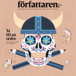 Editorial illustrations: Författaren. A Illustration, Editorial Design, and Digital illustration project by Emma Hanquist - 09.21.2020
