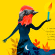 Ilustraciones Eme21Magazine. Un proyecto de Ilustración, Diseño editorial, Diseño gráfico, Ilustración digital e Ilustración con tinta de Adolfo Serra - 21.09.2020