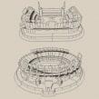 Estadios - Rompecabezas 3D. Um projeto de Design industrial de Diego Fernández - 29.09.2020