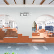 HER proyecto final: Introducción al retail design. A Innenarchitektur, Innendesign, Innenarchitektur und Design von Gewerbeflächen project by Clap Studio - 29.09.2020