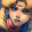 Sailor Moon Redraw. A Illustration, and Portrait Drawing project by Rodrigo Rivas (Ruiveran) - 10.05.2020