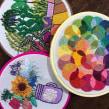 Nuevo estudio de color, y más plantas :). Un proyecto de Bordado de Coricrafts - 05.10.2020