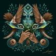 VISIONES AMAZÓNICAS / ILUSTRACIÓN DIGITAL . A Digital illustration, Digital Design, Digital Drawing, and Digital Painting project by ZELVA Uno - 10.06.2018