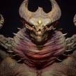 Demonragon (Unreal 4). Un proyecto de 3D, Modelado 3D y Diseño de personajes 3D de Juan Novelletto - 12.10.2020