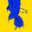 El Chico Azul con Pies de Hierro. Un proyecto de Ilustración, Dibujo e Illustración editorial de Kaos - 17.02.2019